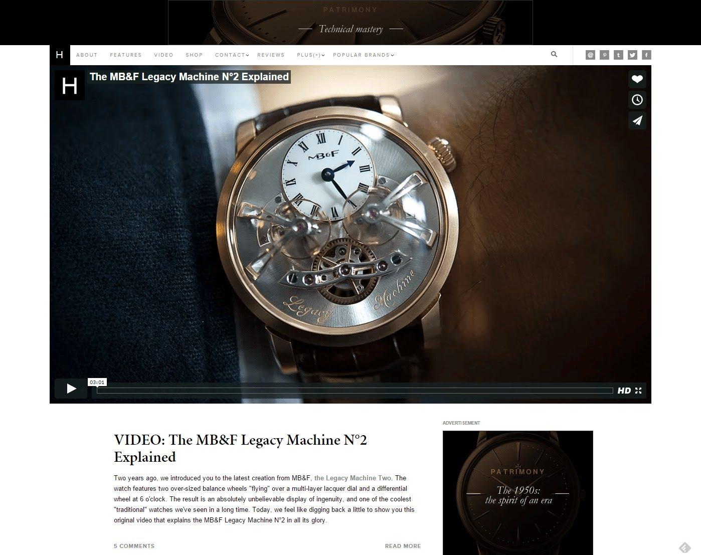 hodinkee watch blog