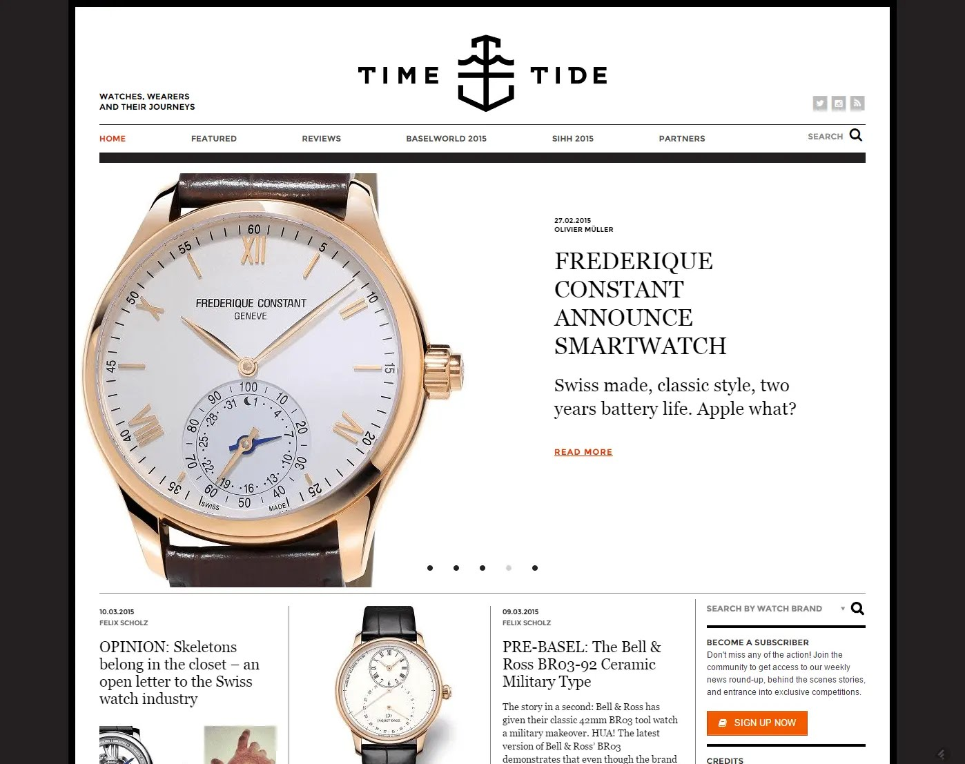 time+tide watch blog site