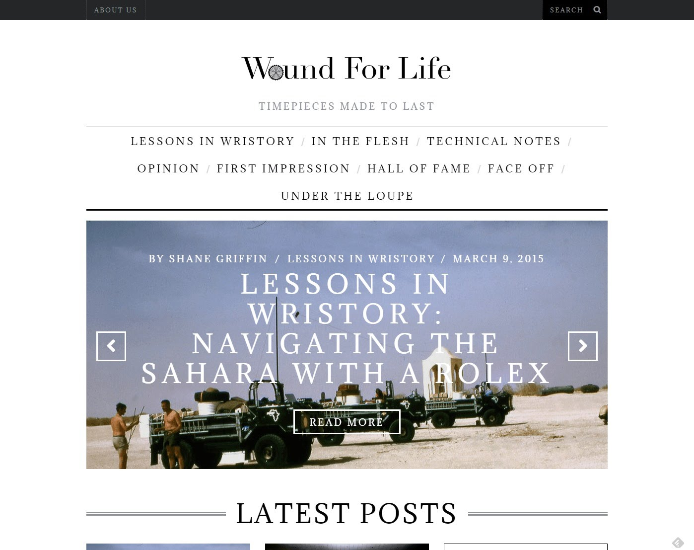 wound for life watch blog
